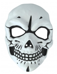 Skelet masker van PVC voor volwassenen