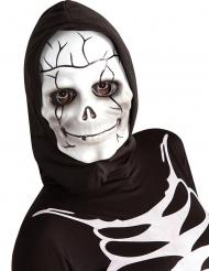 Skelet masker met muts voor kinderen