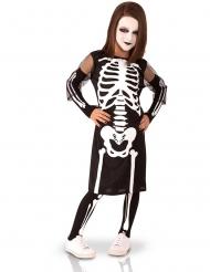 Complete skelet outfit voor meisjes