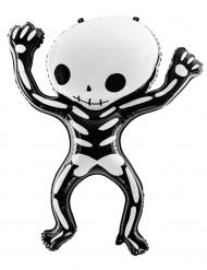 Zwarte en witte aluminium skelet ballon