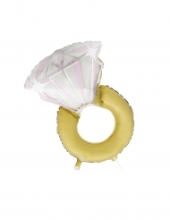 Aluminium verloving ring ballon