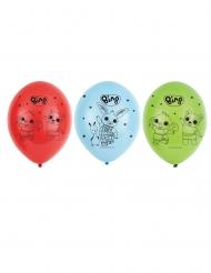 6 latex Bing™ ballonnen