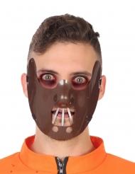 Kannibaal half masker voor volwassenen