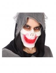 Bloederig skelet half masker voor volwassenen