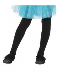 Zwarte ondoorzichtige panty voor kinderen