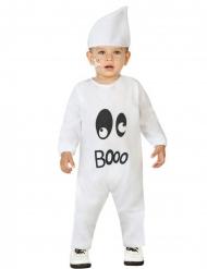 Schattig wit spook kostuum voor baby