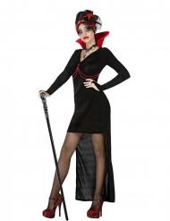 Sexy gothic vampier kostuum voor vrouwen