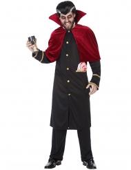 Gothic vampier kostuum met cape voor mannen
