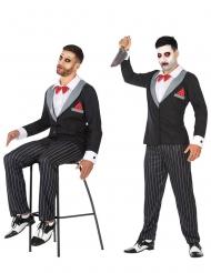 Buikspreekpop kostuum voor mannen