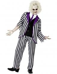Excentrische zombie exorcist outfit voor mannen