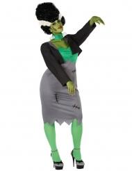 Groen kunstmatig monster voor vrouwen - Plus Size
