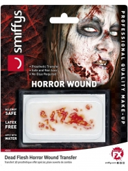 Zombie horror gezichtswond voor volwassenen