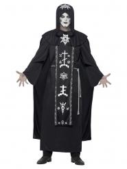 Zwarte magie kostuum voor volwassenen