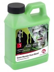 Groen flesje nepbloed