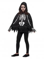 Skelet poncho voor kinderen