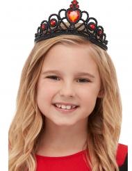 Zwarte heks tiara voor meisjes