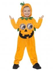 Lachend pompoen kostuum voor kinderen
