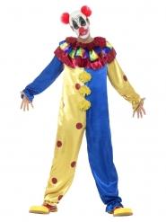 Kippenvel clown kostuum voor volwassenen