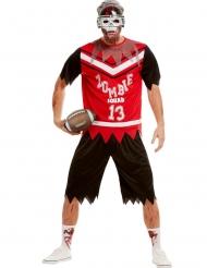 Zombie American Football speler kostuum voor mannen