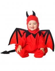 Duivel kostuum met muts voor baby