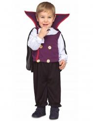 Klein vampier graaf kostuum voor baby