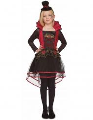 Rode elegante vampier kostuum voor meisjes