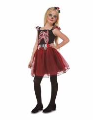 Skelet jongedame outfit voor meisjes