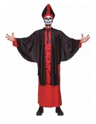 Skelet bisschop kostuum voor volwassenen