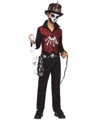 Voodoo tovenaar kostuum voor jongens