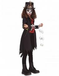 Voodoo heks kostuum voor meisjes