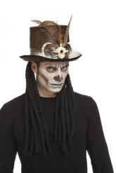 Voodoo tovenaar hoed voor volwassenen