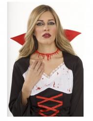 Bloederige halsband voor volwassenen