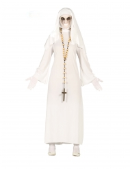 Witte spook non outfit voor vrouwen