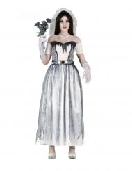 Enge spook bruid outfit voor vrouwen