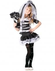Gothic duistere bruid kostuum voor meisjes