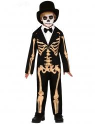 Elegant skelet kostuum voor jongens