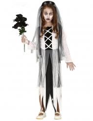Jonge zombie bruid outfit voor meisjes