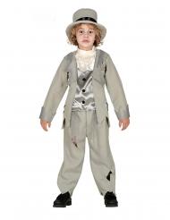 Grijs spook bruidegom kostuum voor jongens