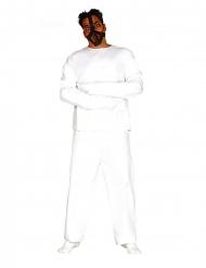 Psychiatrische patiënt outfit voor mannen