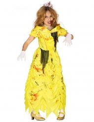 Geel zombie prinses kostuum voor meisjes