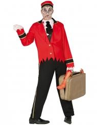 Zombie piccolo kostuum voor mannen