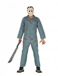 Gestoorde horror killer kostuum voor mannen
