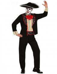 Dia de los Muertos mariachi kostuum voor mannen