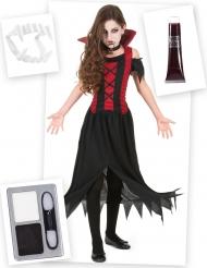 Vampier kostuum pack met accessoires voor meisjes