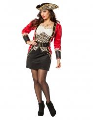 Luxe piraten kapitein kostuum voor dames