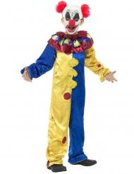 Kippenvel clown outfit voor kinderen