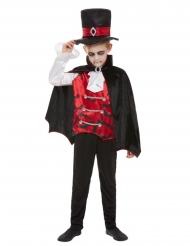 Gothic vampier heer outfit voor kinderen