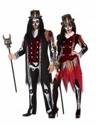 Voodoo priester koppelkostuum voor volwassenen