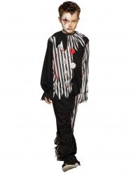 Bloederige duistere clown outfit voor jongens