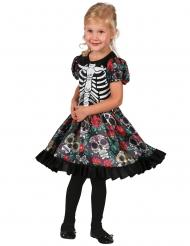 Veelkleurige Dia de los Muertos jurk voor meisjes